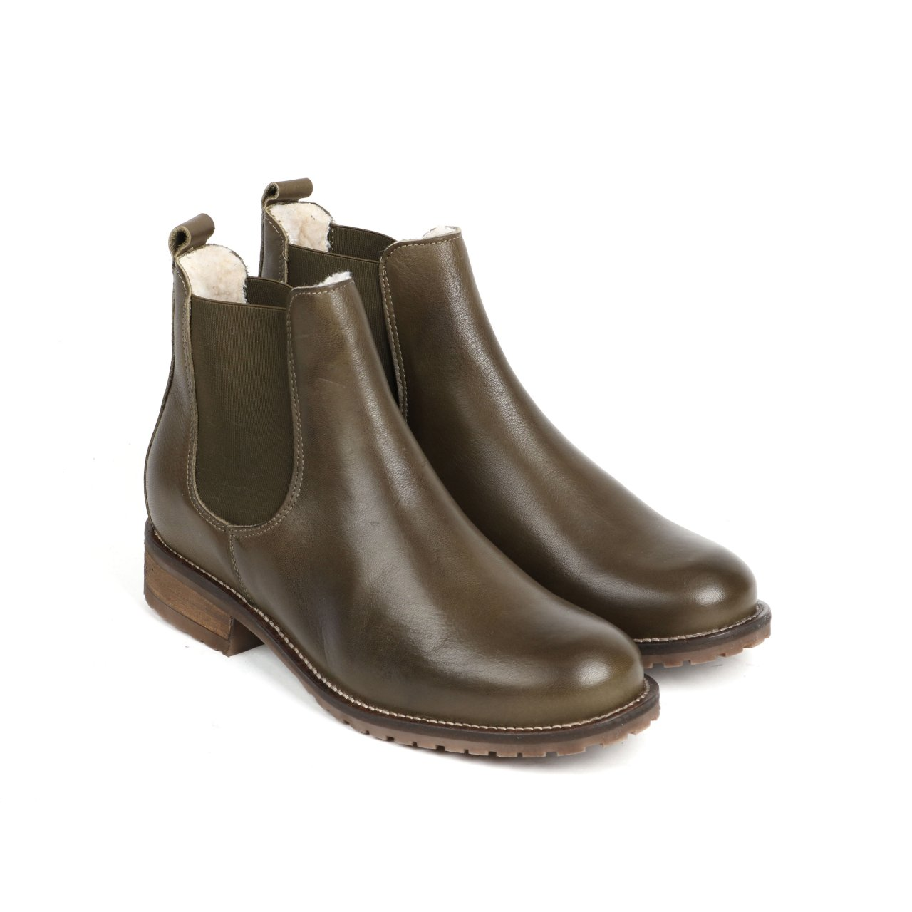 Online Shoes Stiefeletten olive