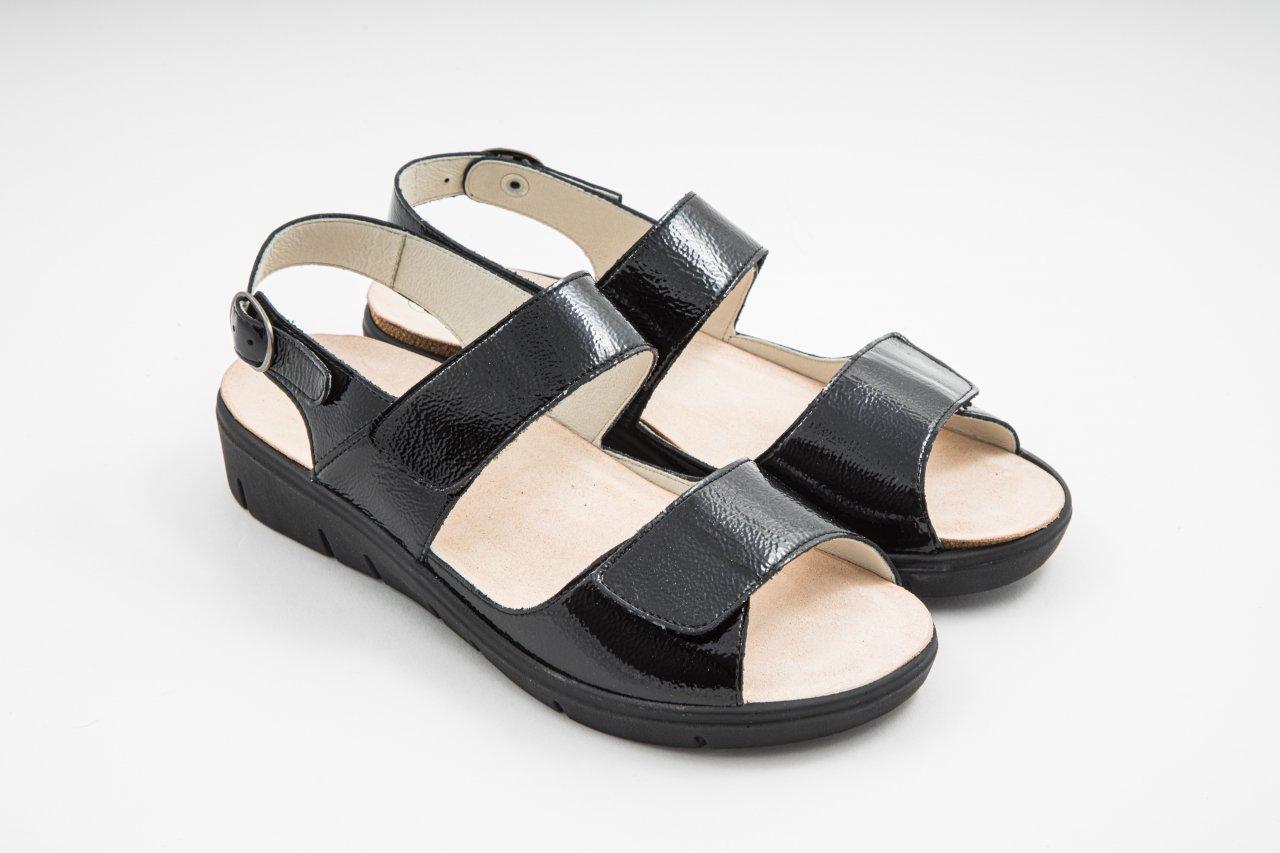 Solidus HONEY Sandale schwarz