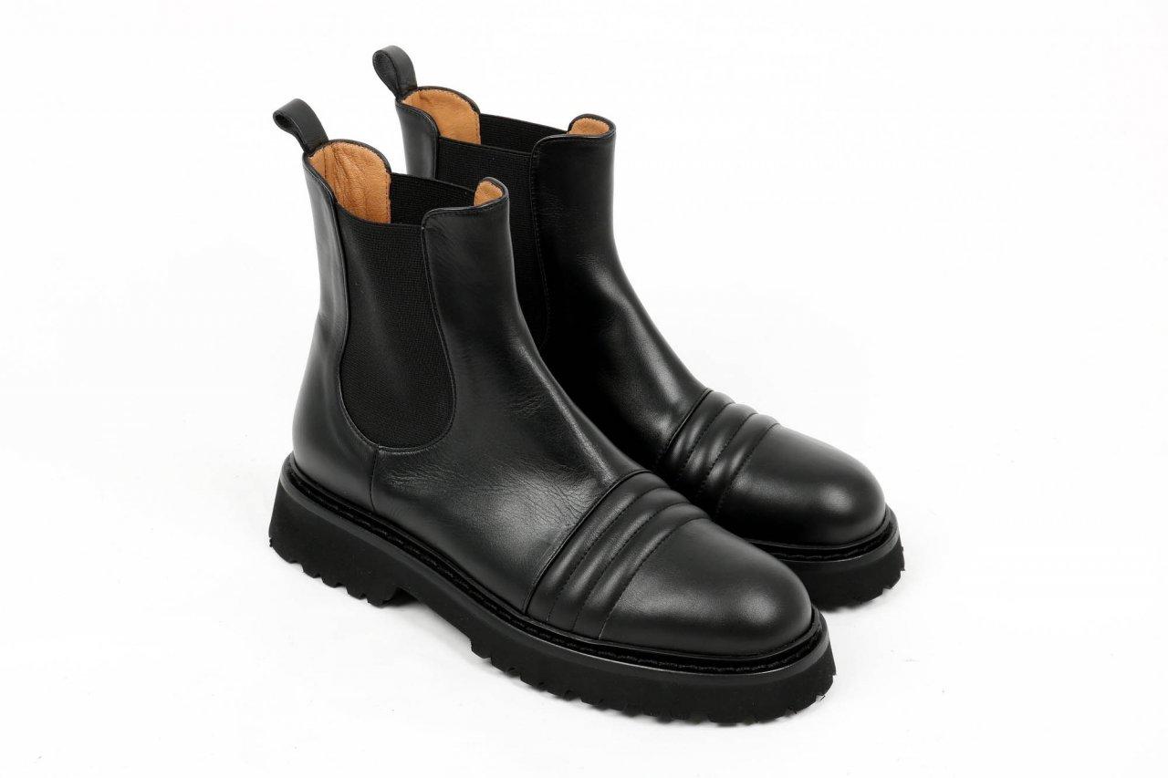 """Pomme d´Or Chelsea Boots """"Til"""" schwarz"""