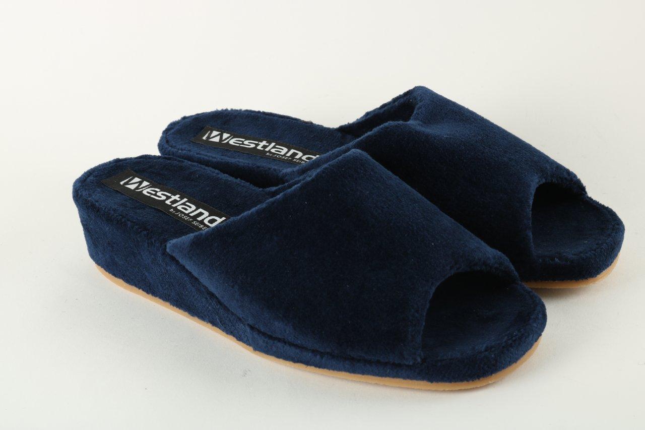 Westland Damen Pantolette blau
