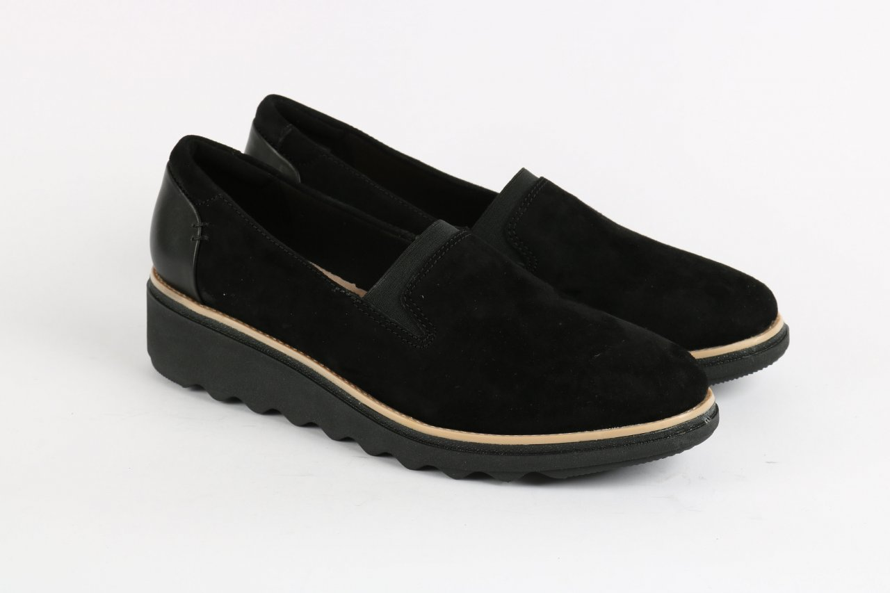 "Clarks Sllipper ""Sharon Dolly"" schwarz"
