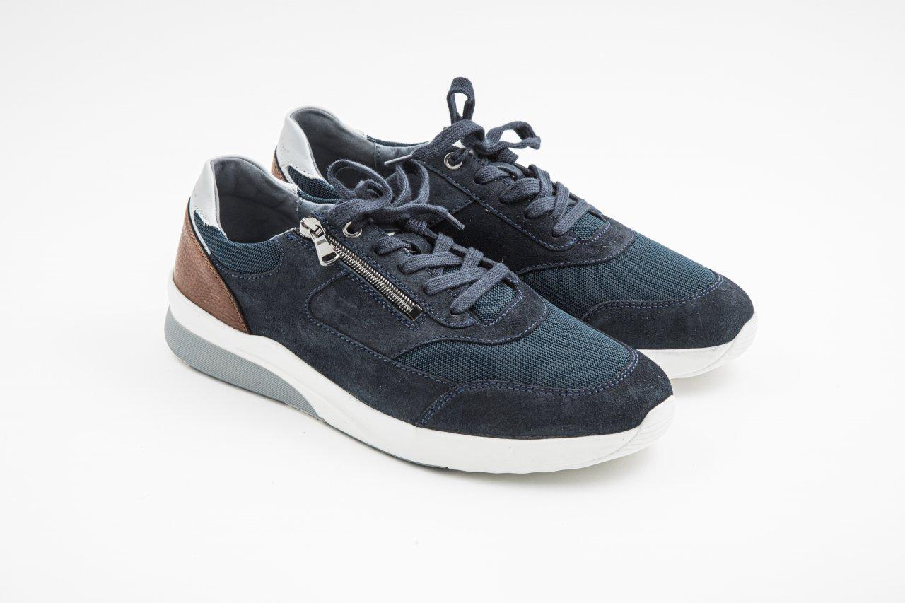Waldläufer Sneaker K-FABIAN blau