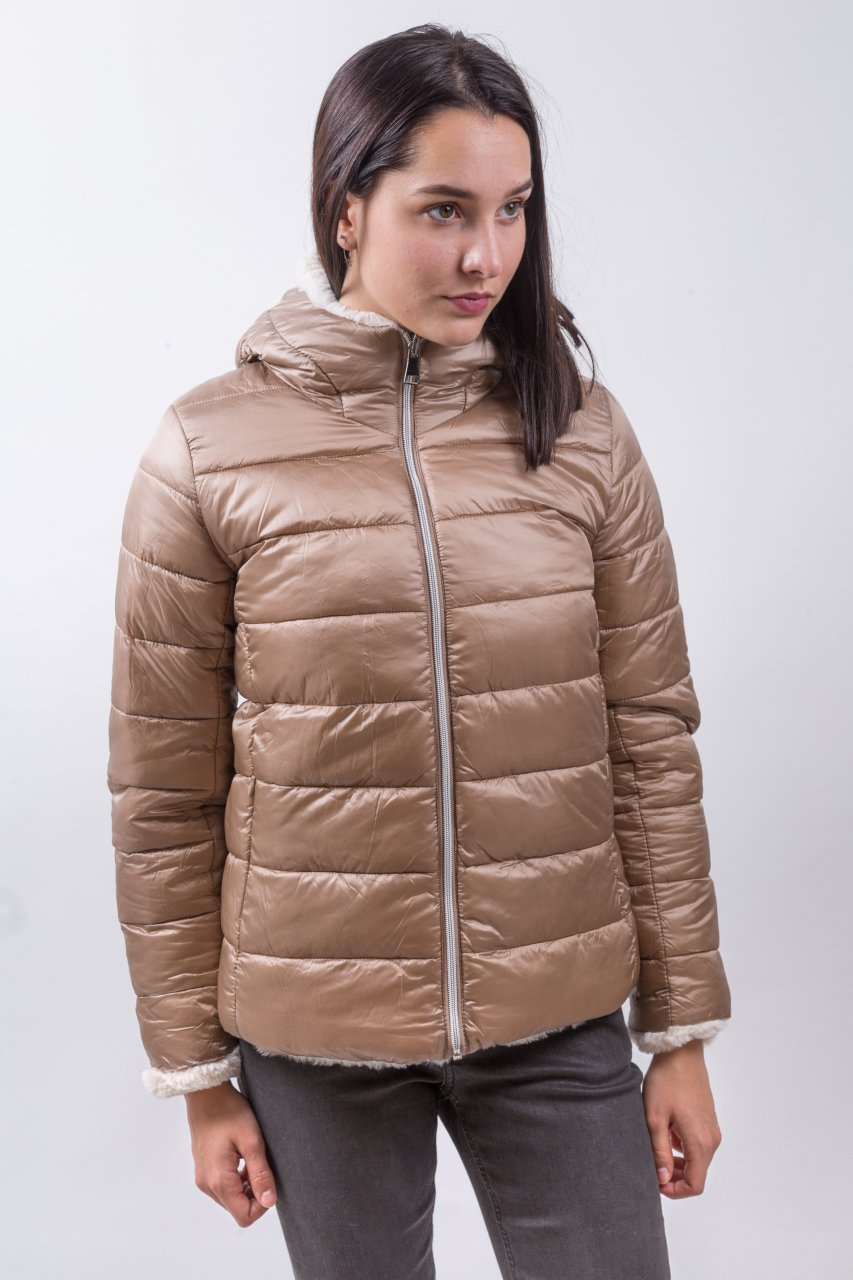 Molly Bracken Winterjacke beige