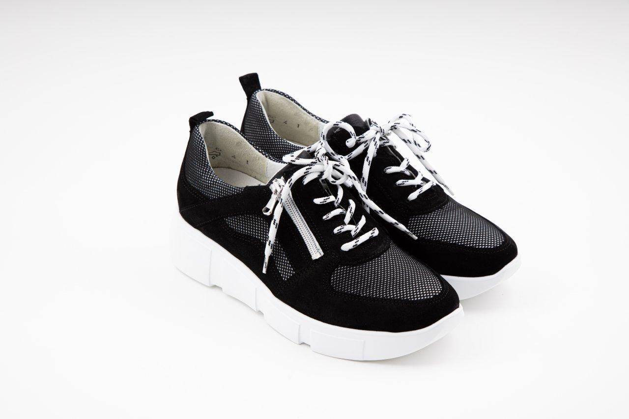 Waldläufer Sneaker H-Lou schwarz