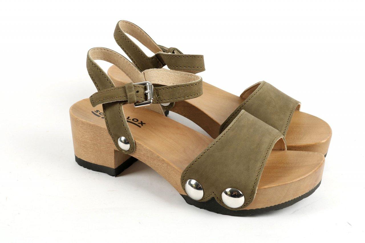 """Softclox Sandaletten """"Penny"""" olivgrün"""