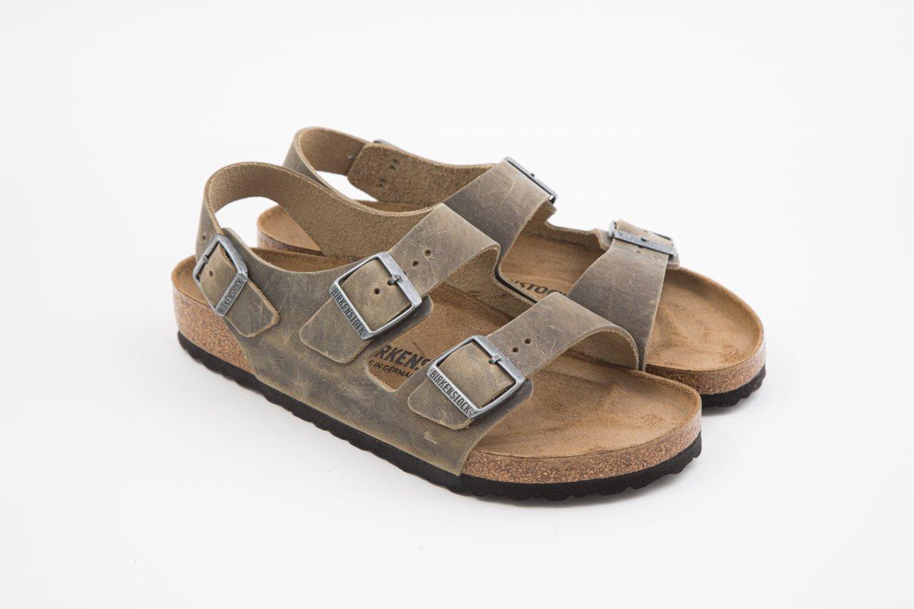Birkenstock Sandale MILANO khaki