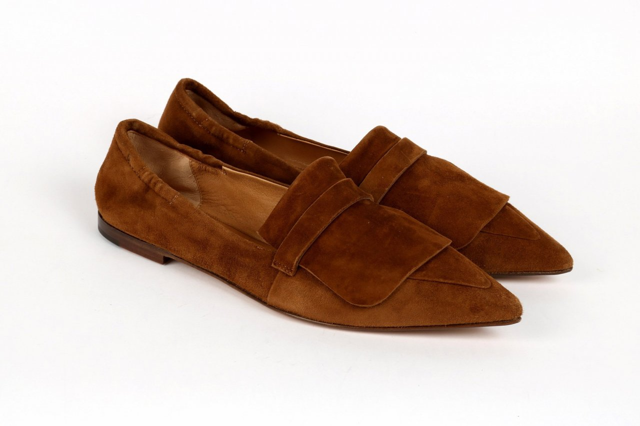 "POMME D'OR Slipper ""Ingrid"" caramel"