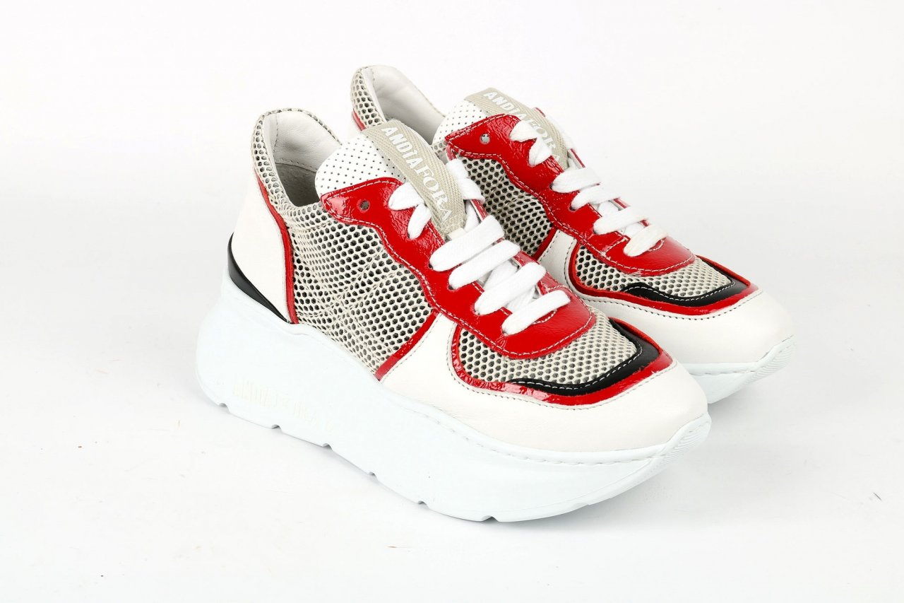 """Andia Fora Sneakers """"Spike3"""" weiß"""