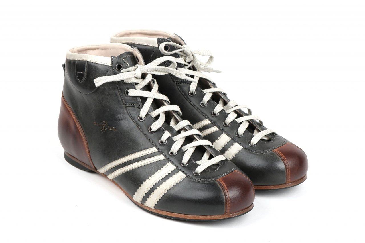 """Zeha Berlin Sneaker """"Derby"""" grau"""