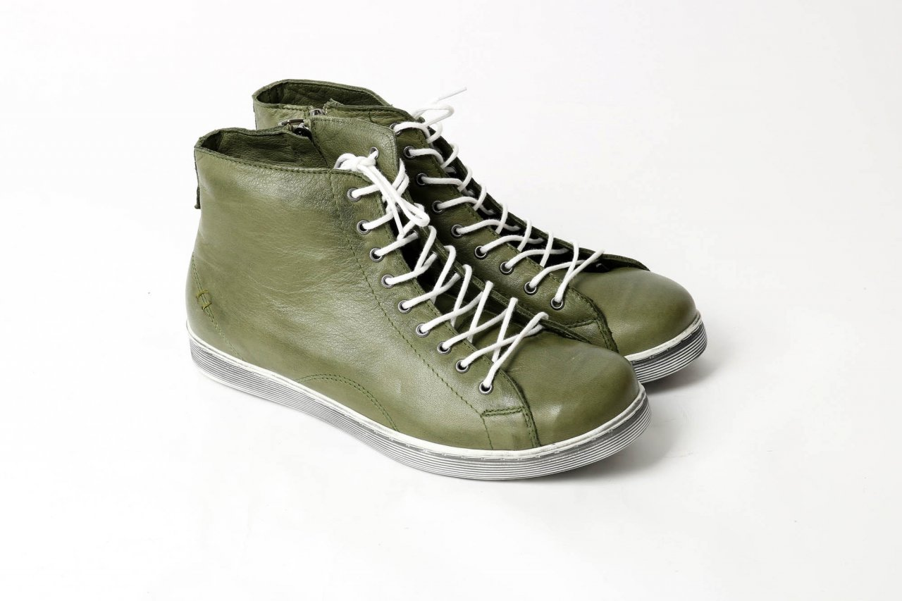 Andrea Conti Sneakers high olive