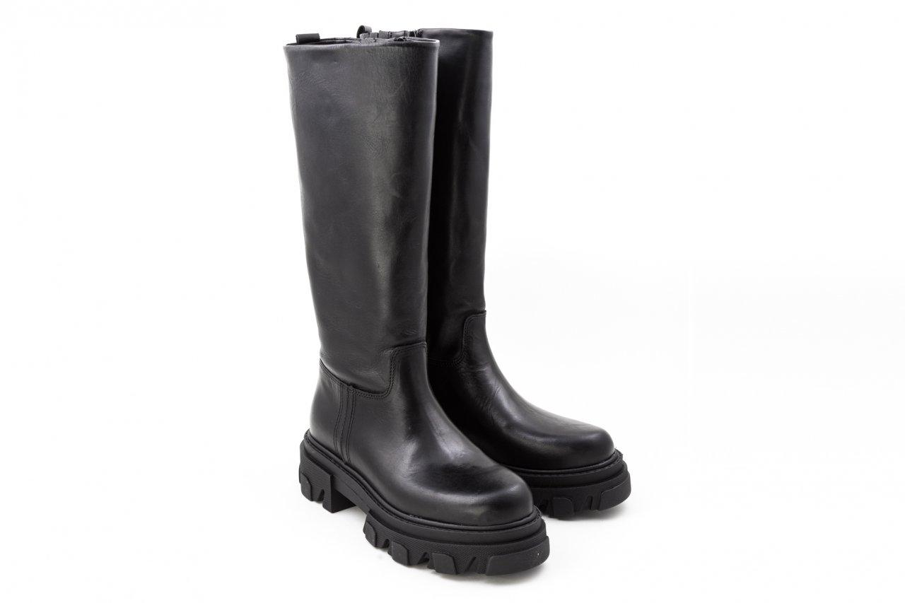 Alpe Stiefel schwarz