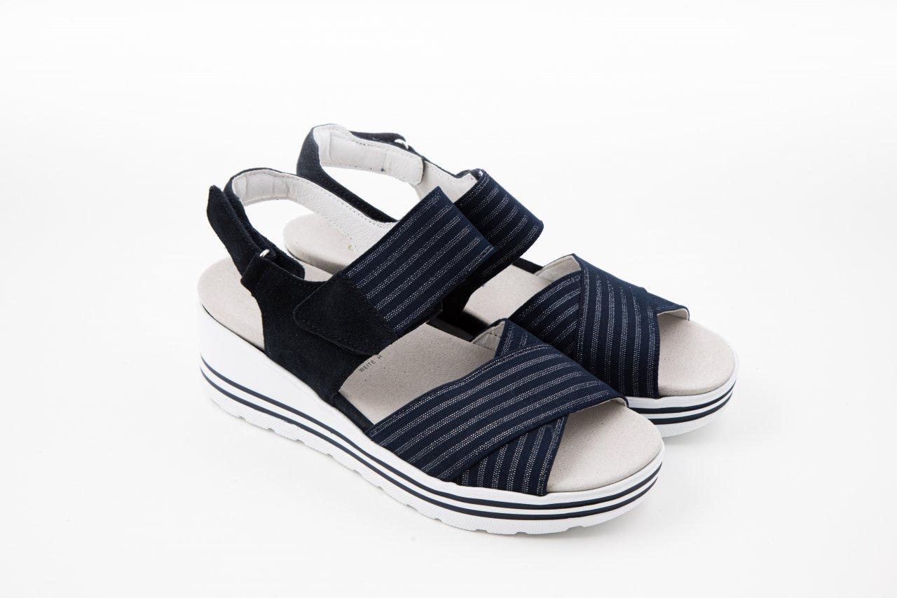 Waldläufer Sandaletten H-MICHELLE blau
