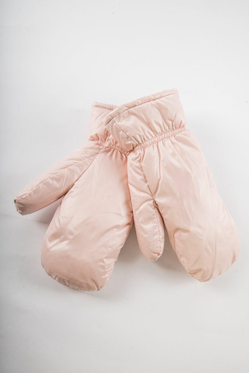 Daunenhandschuhe rosa