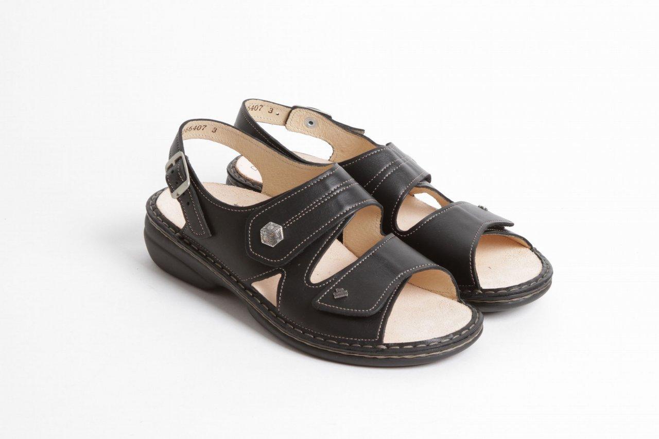 Finn Comfort Sandalette schwarz