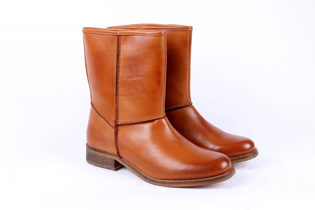 Online Shoes Stiefeletten braun