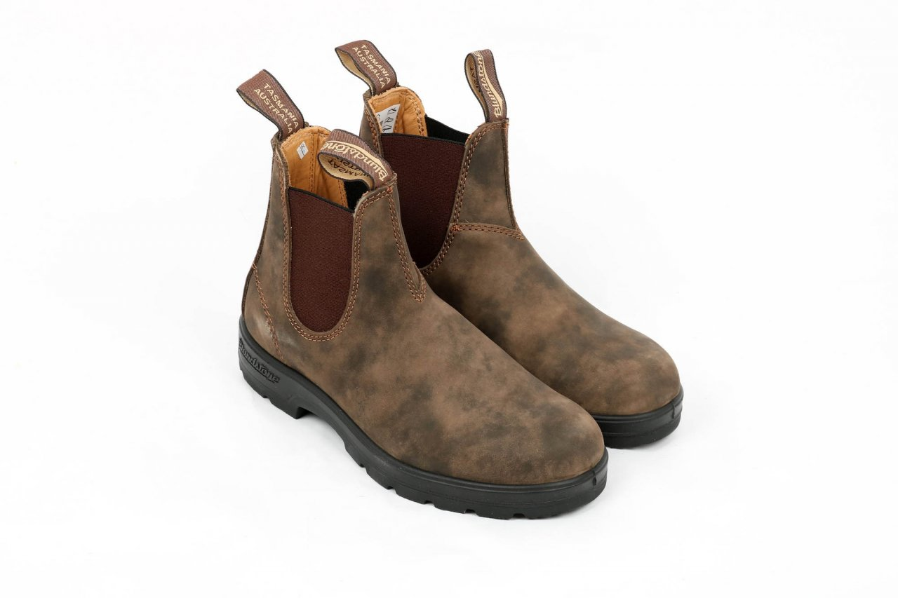 Blundstone Chelsea Boots rustic brown