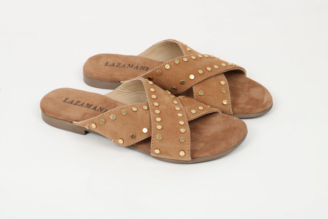 Lazamani Pantolette beige