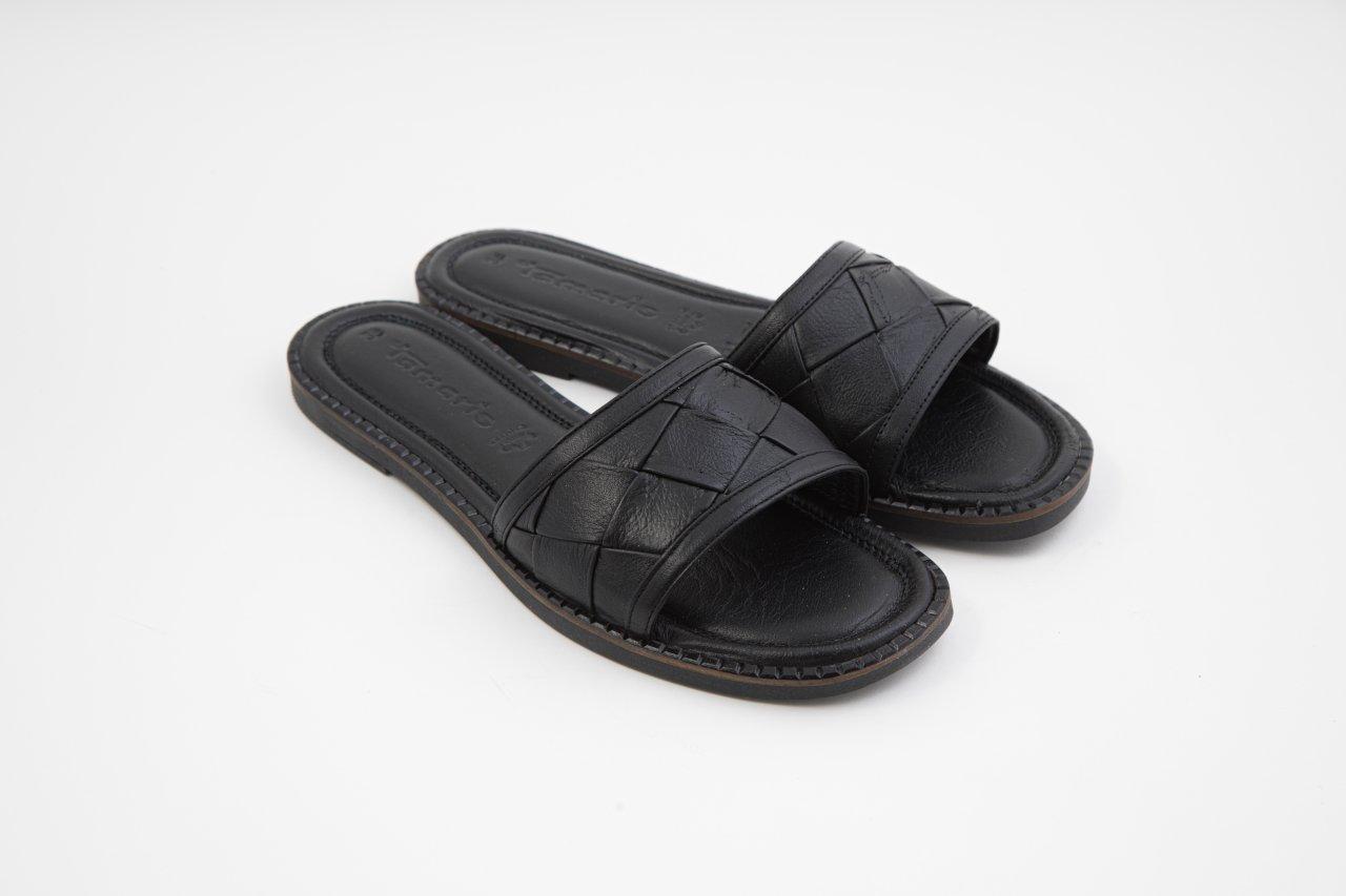 Tamaris Pantoletten schwarz