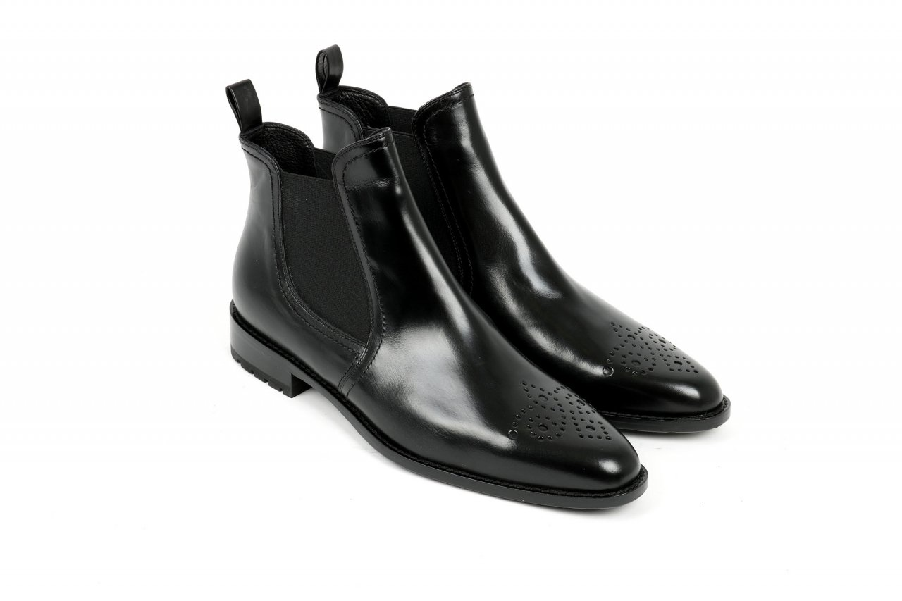 Trumans Chelsea Boots schwarz