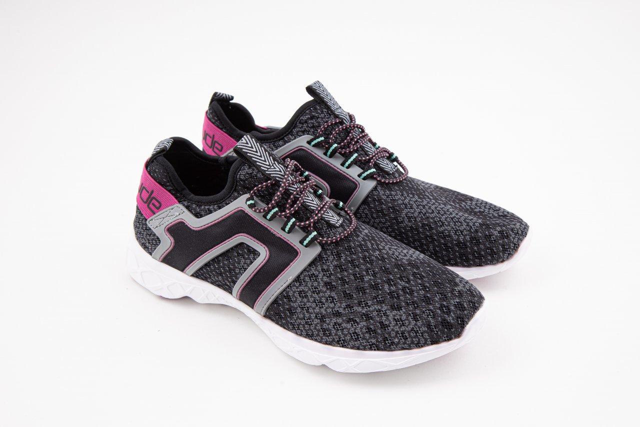 Hey Dude Sneakers black pink schwarz