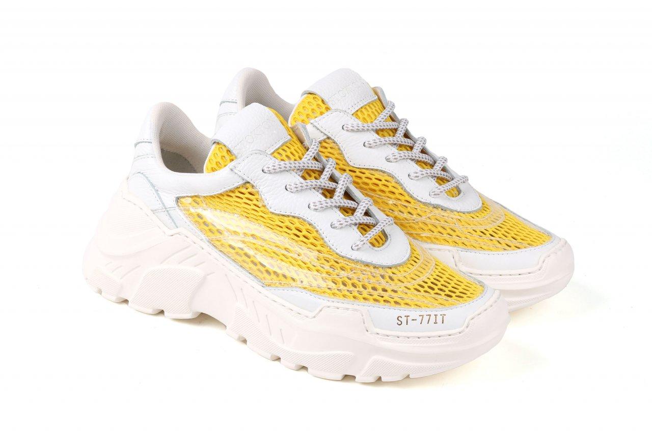 Stokton Sneakers gelb/weiß