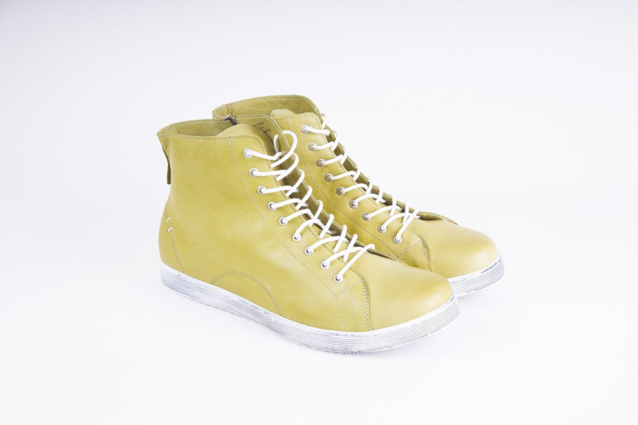 Andrea Conti Sneakers high limone