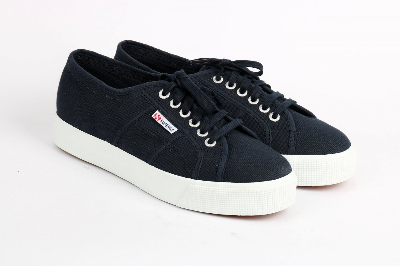 "Superga Sneakers ""S00C3NO"" blau"