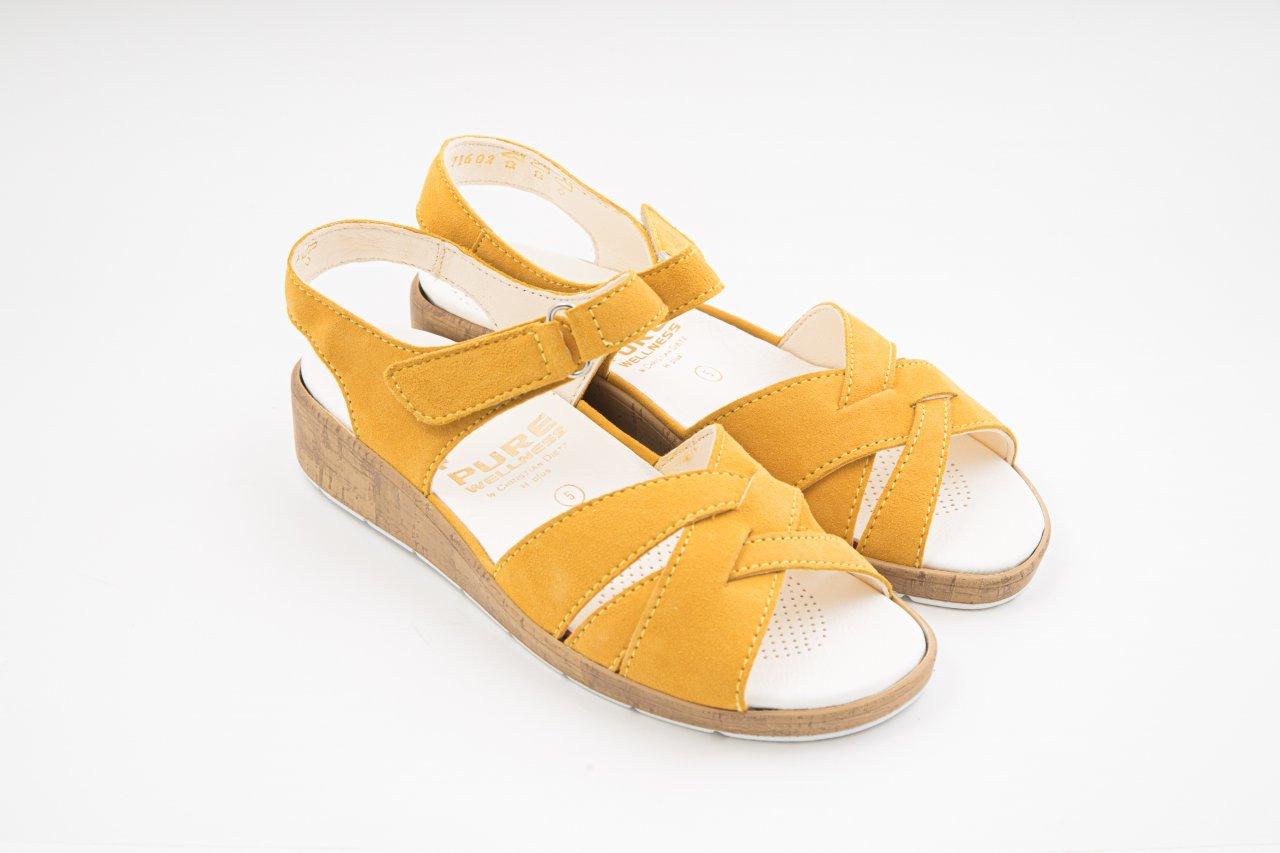 Christian Dietz Sandaletten Elba gelb