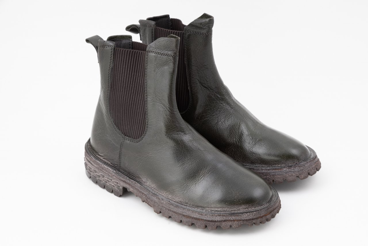Moma Chelsea Boots forest khaki