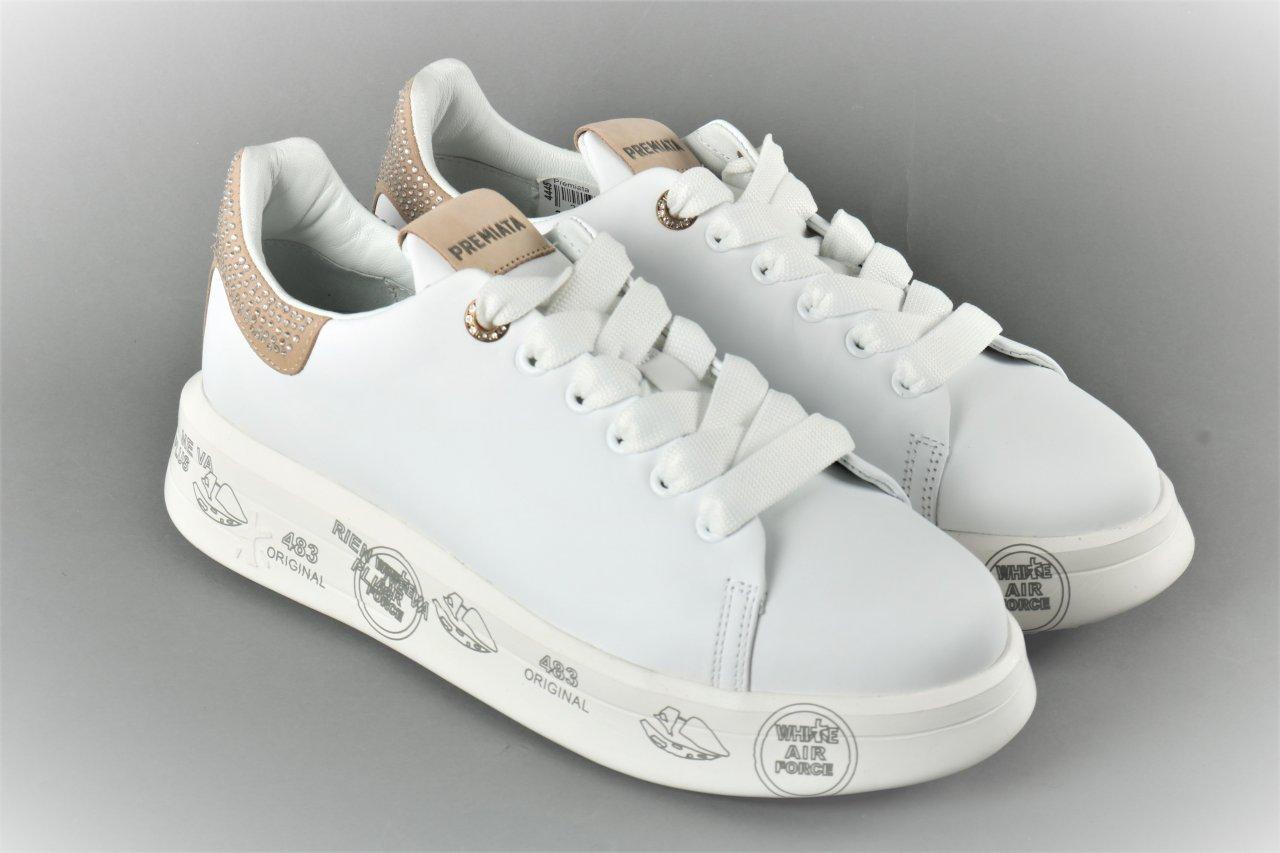 """Premiata Sneakers """"Belle"""" weiß"""
