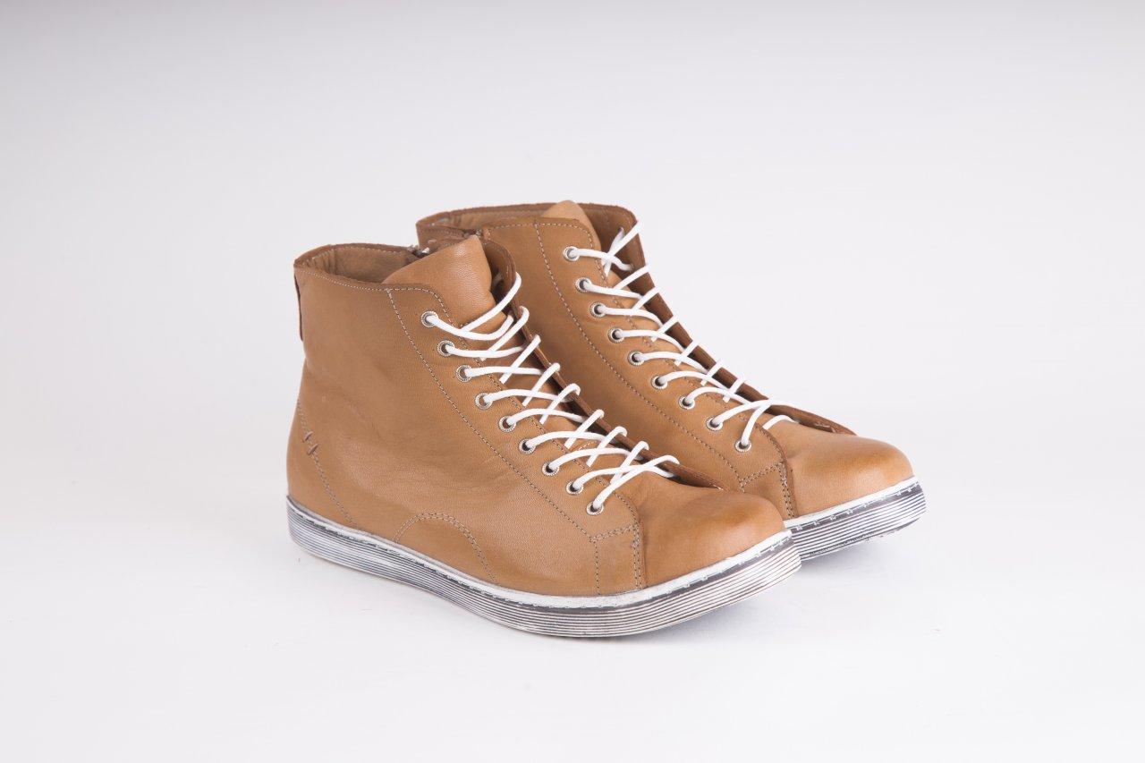 Andrea Conti Sneakers high camel