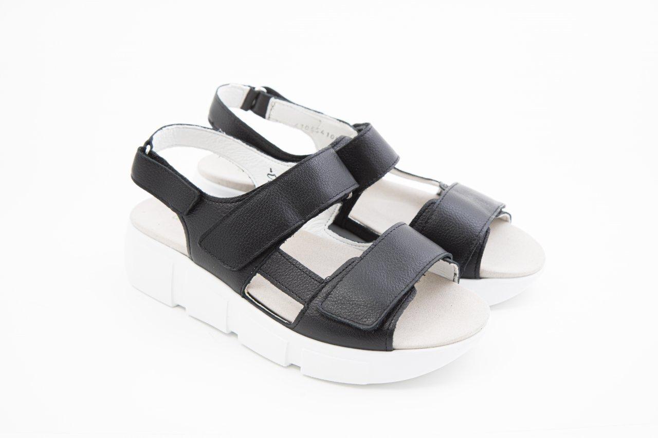 Waldläufer H-ISA Sandale schwarz