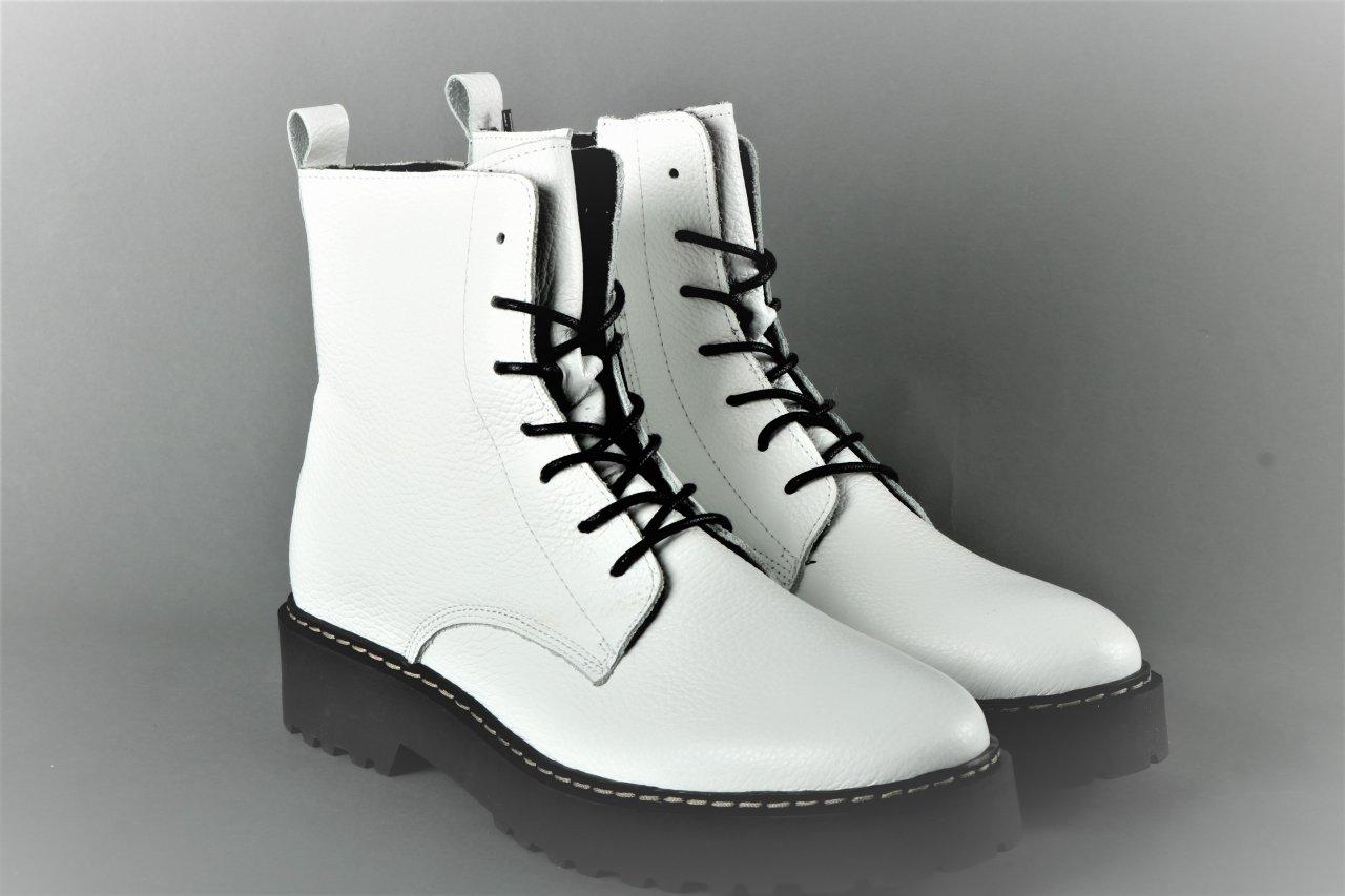 Online Shoes Stiefelette weiß