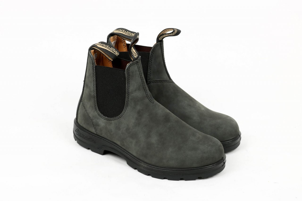 Blundstone Chelsea Boots rustic black
