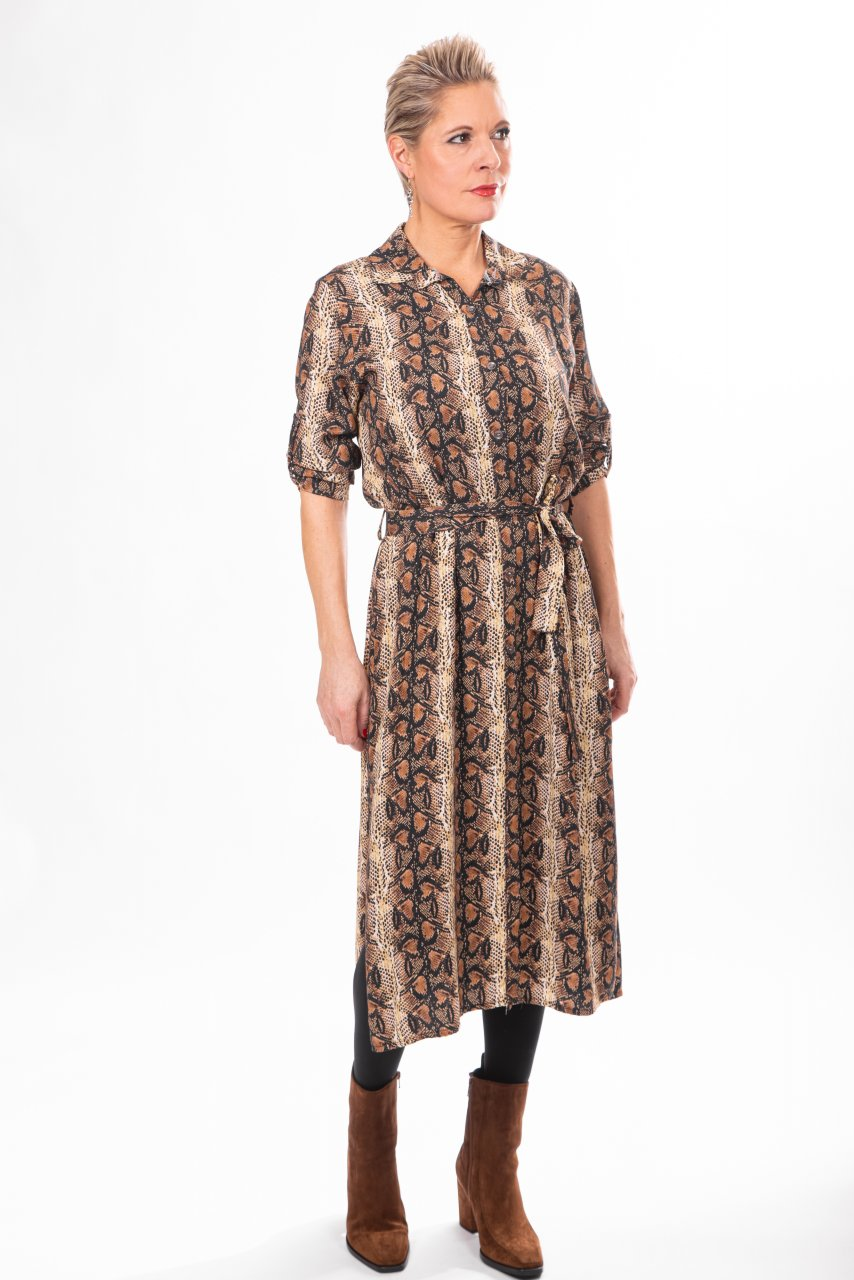 YOURS Kleid Snake
