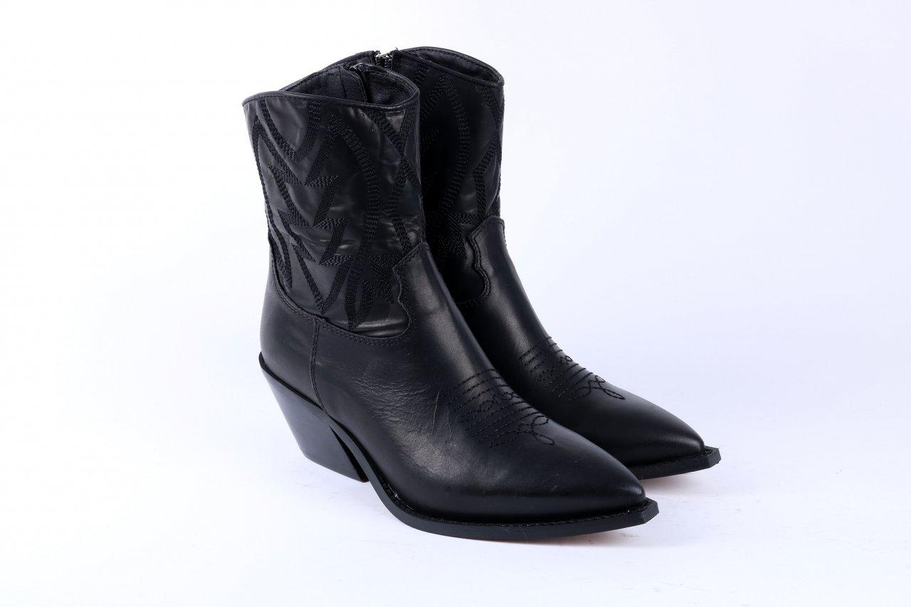Alpe Cowboy Stiefelettte schwarz