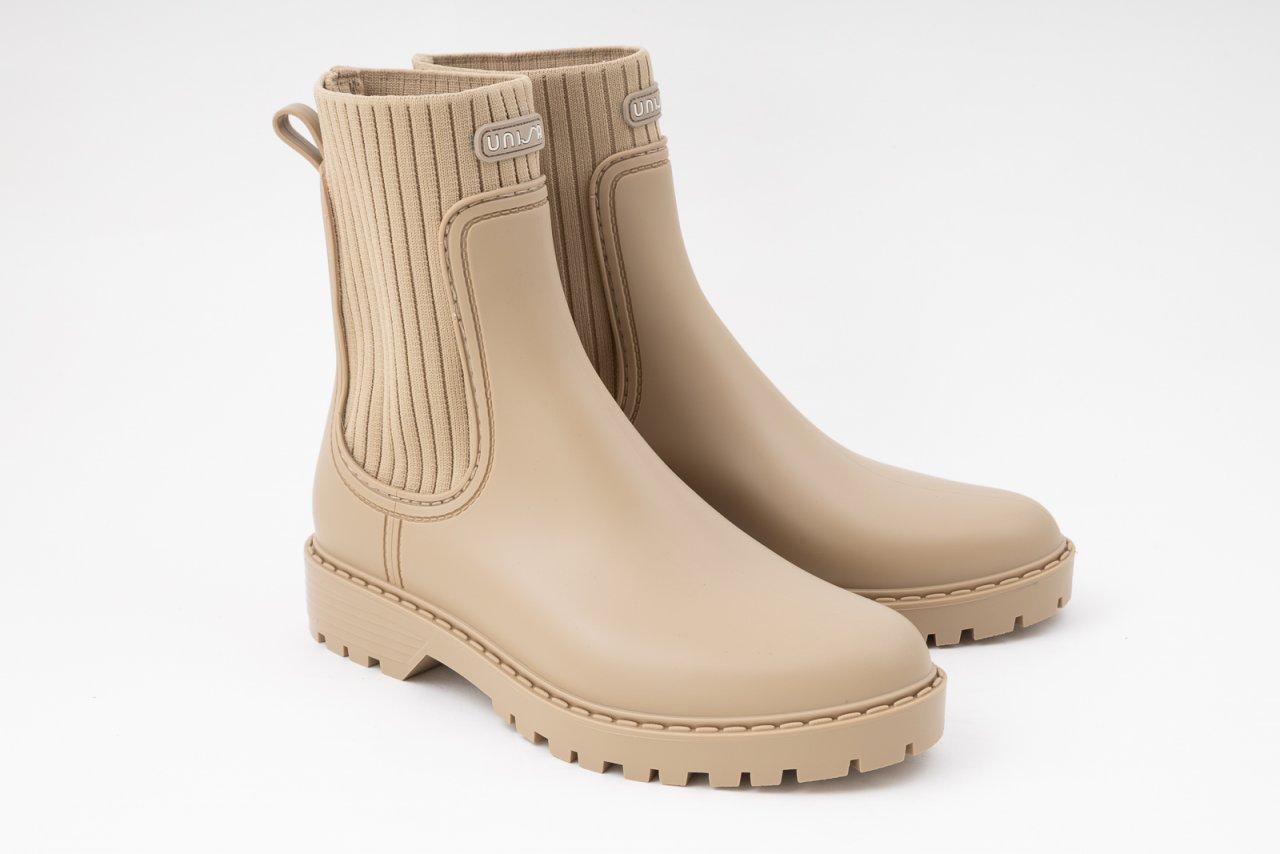 Unisa Chelsea Boots Gummistiefeletten beige