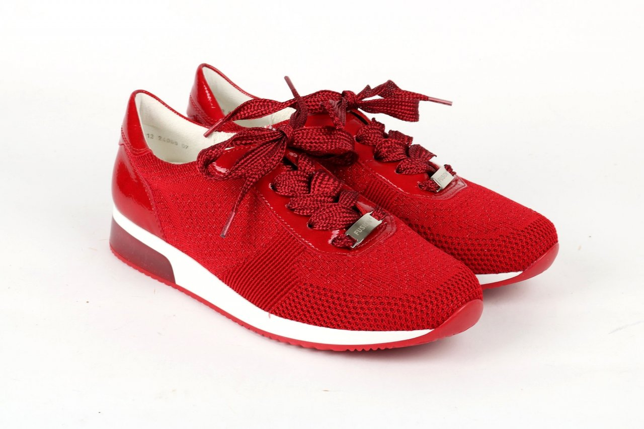 Ara Sneakers LISSABON FUSSION rot