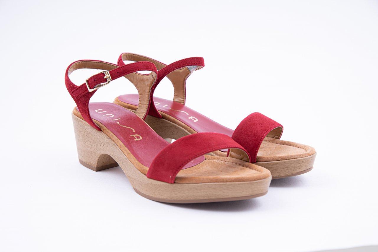 Unisa Sandaletten rot