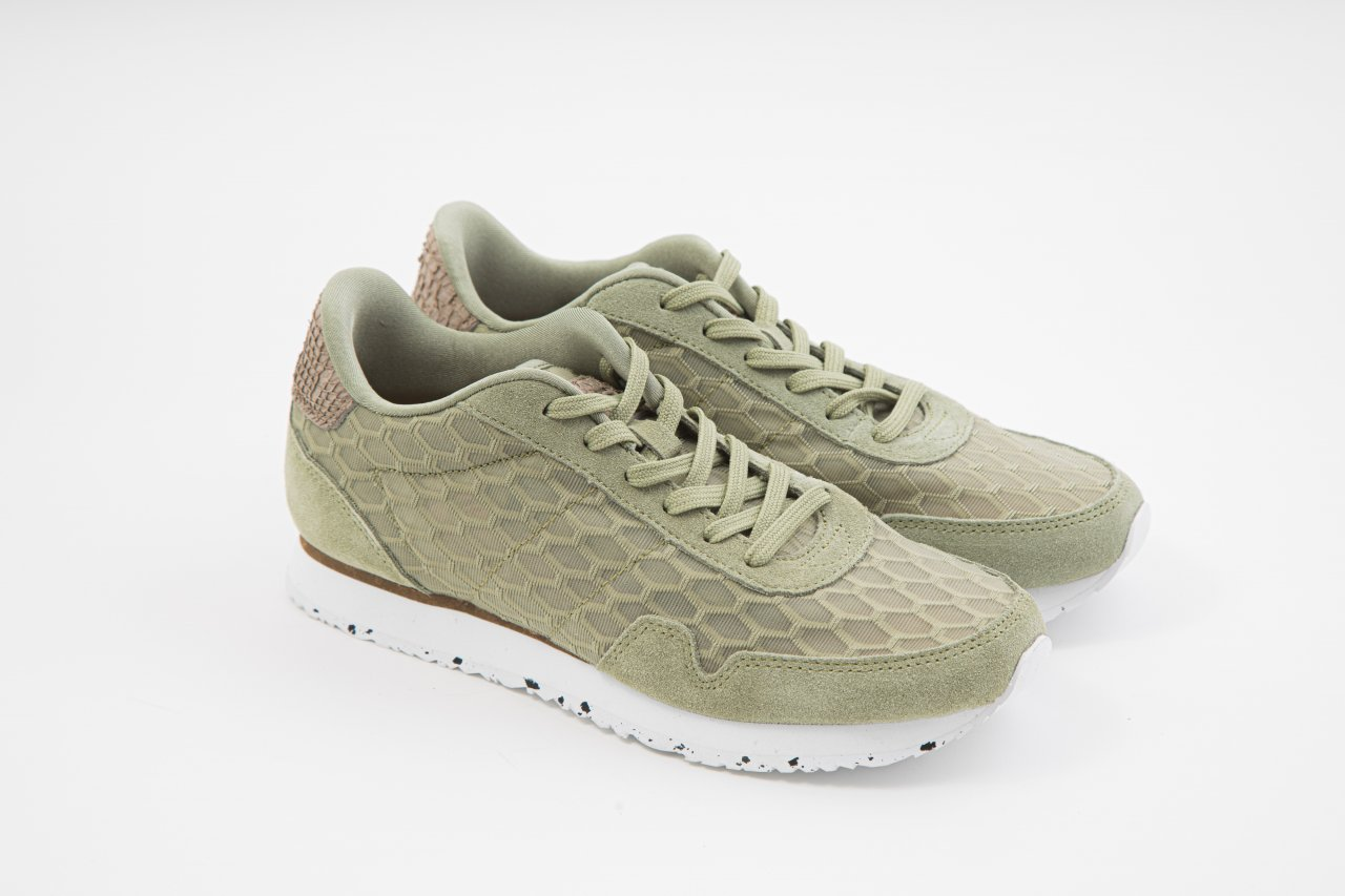 Woden Sneakers WL874 khaki
