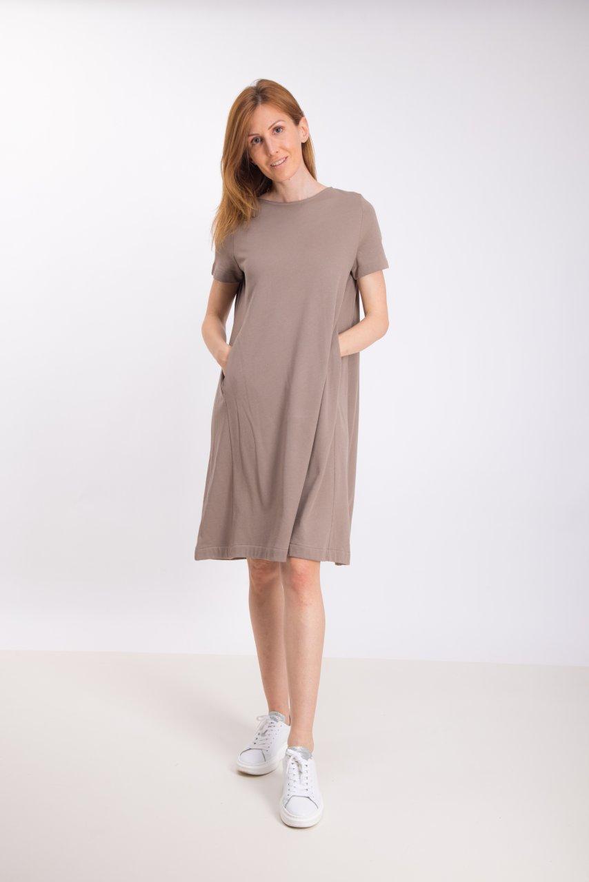 Blaumax Kleid SANIA taupe