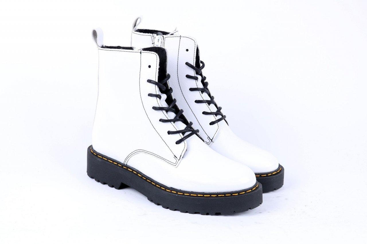 Online Shoes Stiefeletten weiß