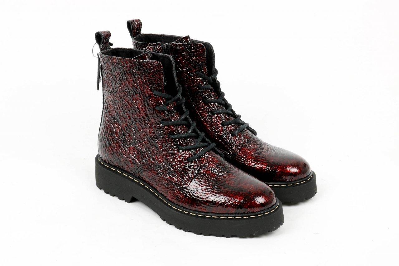 Online Shoes Stiefeletten bordeaux