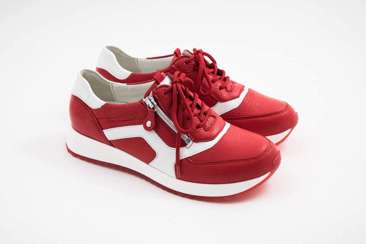 Waldläufer Sneaker H-VICKY rot
