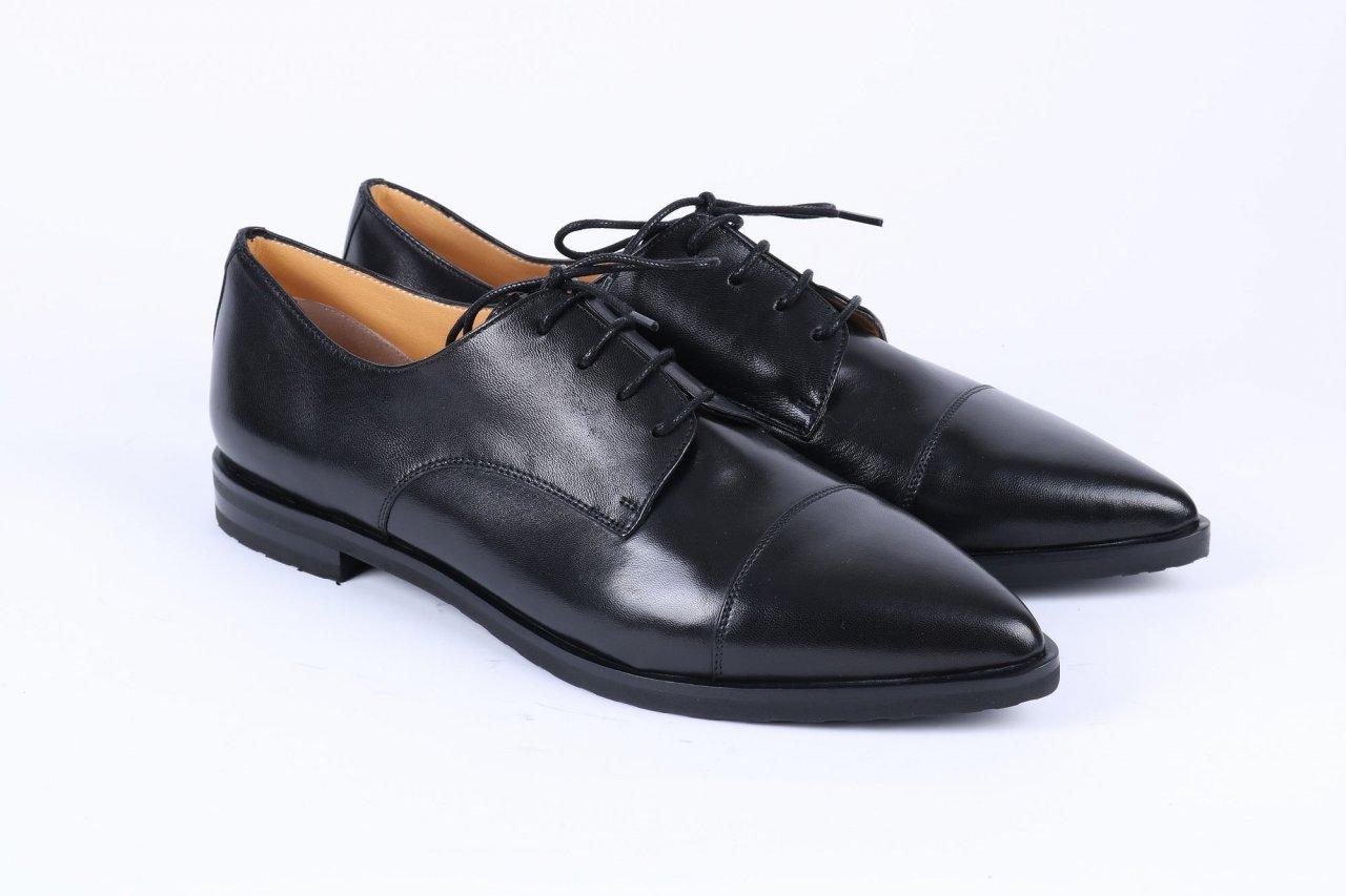 Trumans Schnürschuhe schwarz