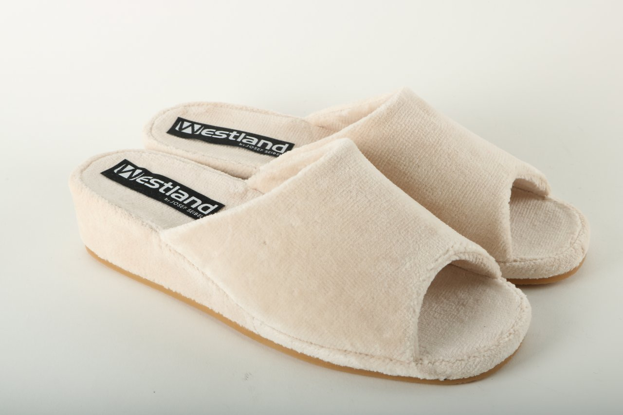 Westland Damen Pantolette beige